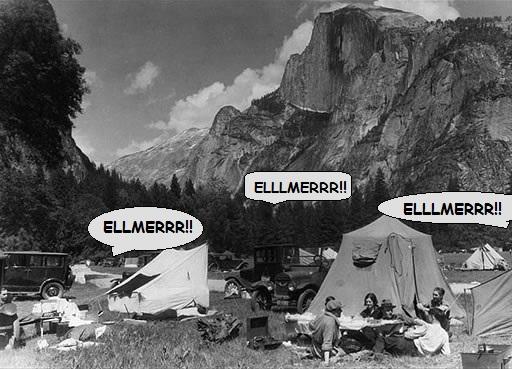 1930 yosemite Campimg Elmer