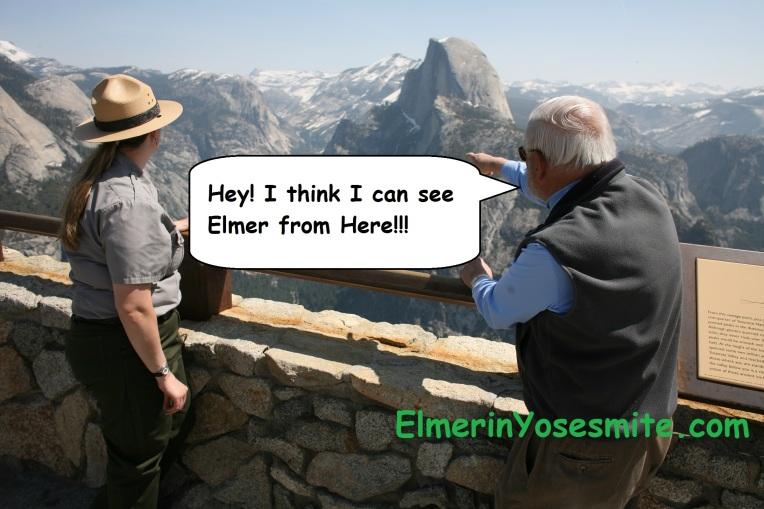 Elmer Ranger Half Dome Glacier Point