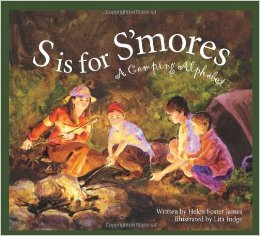 Outdoor kids camping book