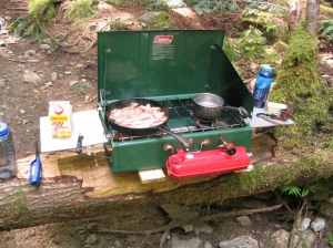 What to cook with kids camping