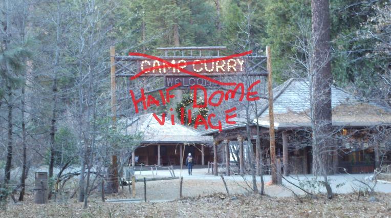Curry village yosemite mane change