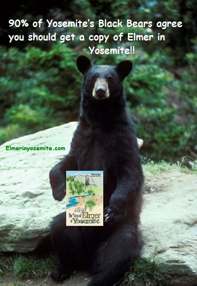 Childrens book Yosemite elmer and black bear